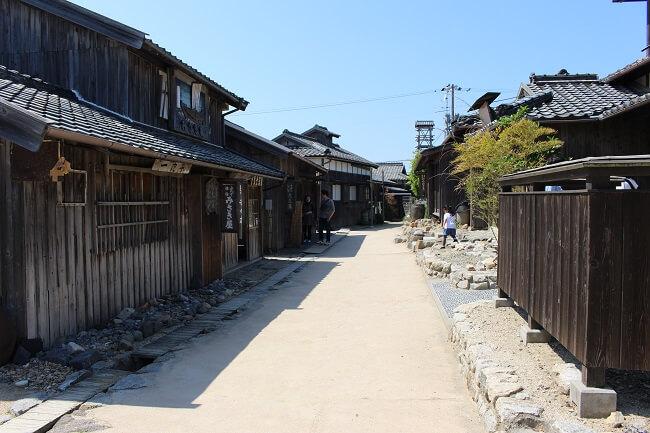 10.映画村の懐かしい街並みの写真(2)