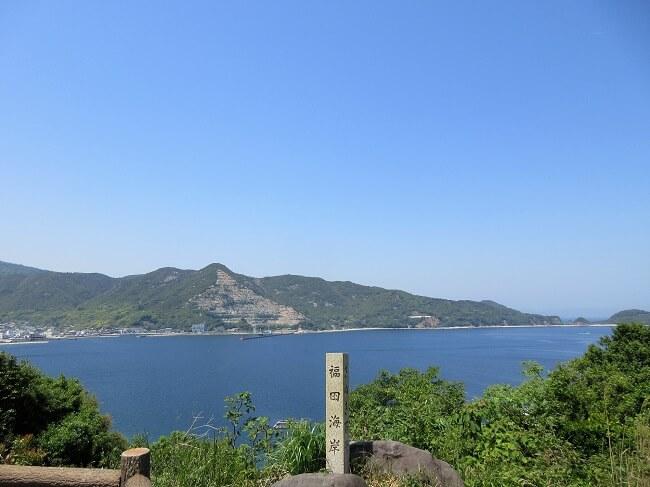 26.福田海岸(景観)の写真