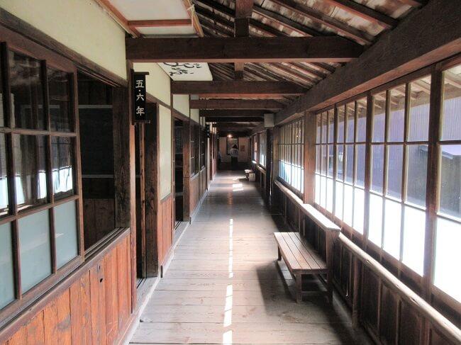 29.分教場(廊下)の写真