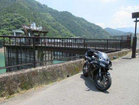 04.二川ダムとCBRの写真
