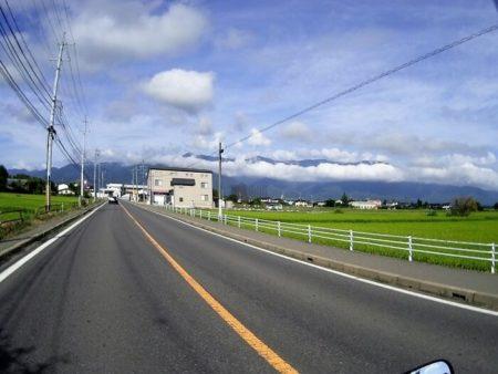 02.国道158号線の写真