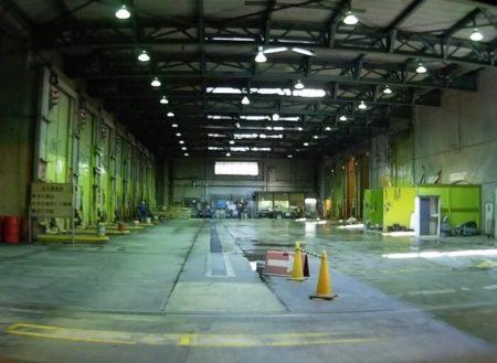 28.ゴミ焼却場のゴミピットの写真