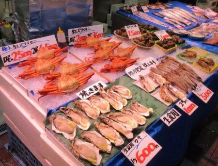 12.新鮮な魚介類の写真