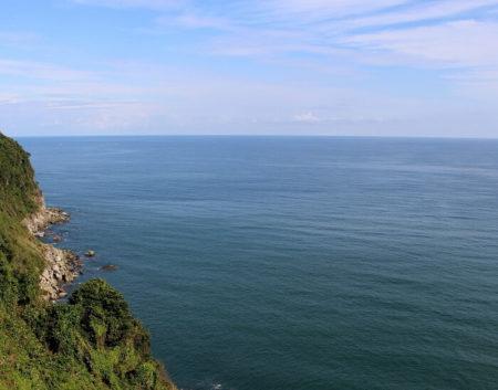 4老漁師が見下ろした日本海の写真