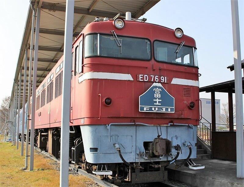 富士号の機関庫の写真