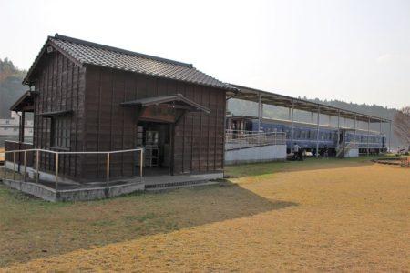 元氣の駅 駅舎の写真