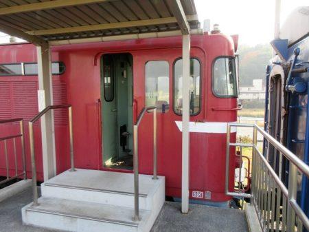 機関車入口の写真