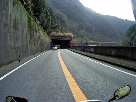 国道210号線沿いの写真