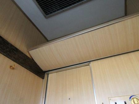 A個室(天井)の写真