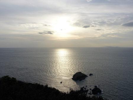 灯台から見える海の景色の写真2