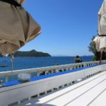 衣奈マリーナ「ボートカフェ」テラス席から見える最高のロケーションでランチタイム!