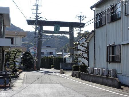 須佐神社の鳥居の写真