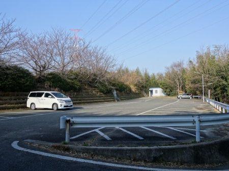 小赤壁公園駐車場の写真