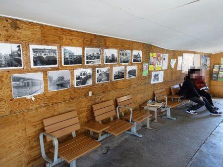 西御坊駅内の写真