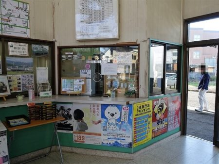 紀伊御坊駅内の写真