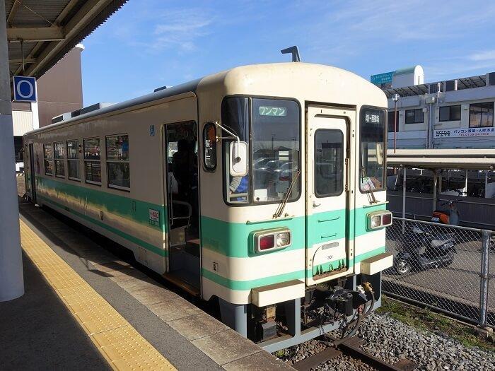 御坊駅の紀州鉄道の写真
