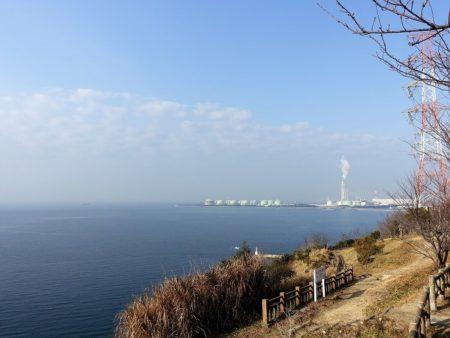 小赤壁 海に向かって右側の写真