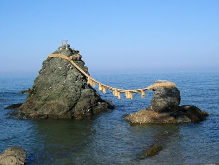 伊勢の夫婦岩の写真