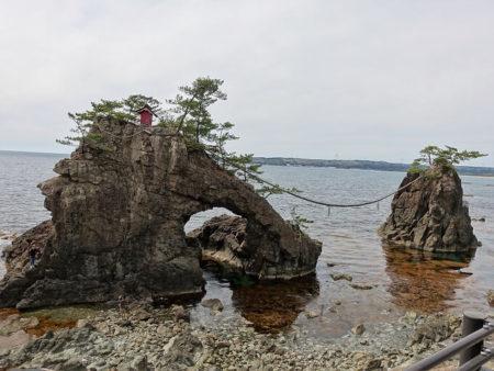 機具岩の写真