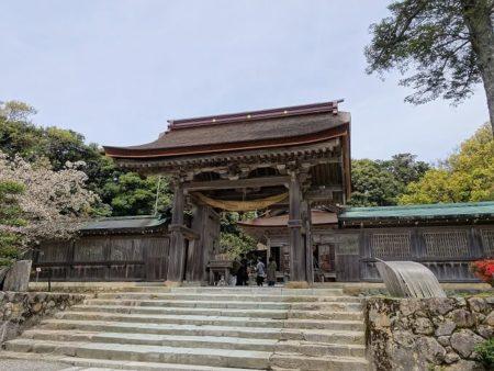 氣多大社神門の写真