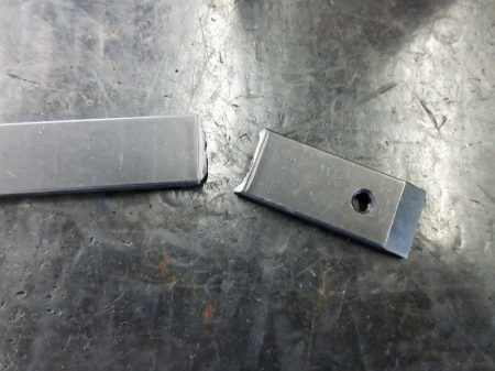 折れたスクレーパーの写真