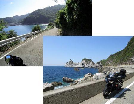 海岸線和歌山県道の写真