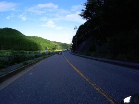 国道173号線景色の良いところの写真