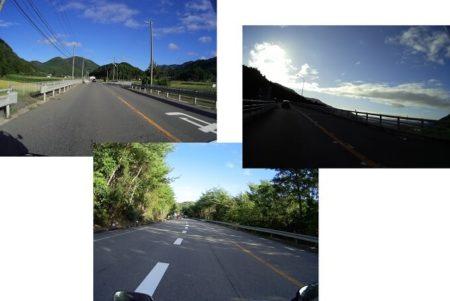 国道173号線の絶景快走路の写真