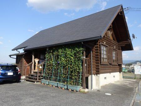ログハウス風店舗の写真