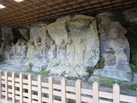 ホキ石仏第2群の石仏の写真