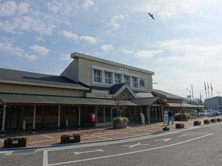 阿久根駅舎の写真