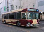 道で出会った復刻カラー近鉄バスの写真
