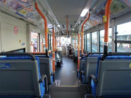 復刻カラーバス(車内)の写真