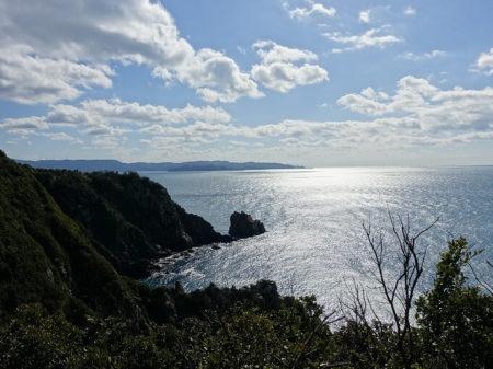 絶景ポイントから見える本州側の風景写真