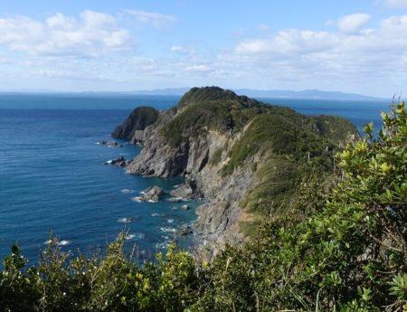 """リアス式海岸が続く""""宮崎の鼻""""の写真"""