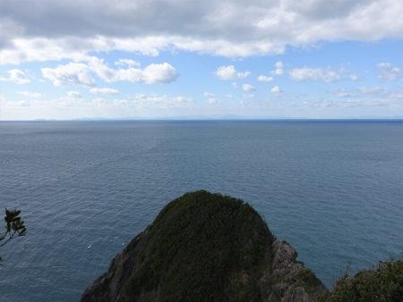 天気が良い日は遠く四国まで見る事が出来る写真