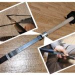 きさげ 工具『スクレーパー』を修理する! 柄のガタツキならこの方法をためせ