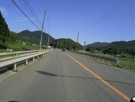 国道173号線快走路の写真