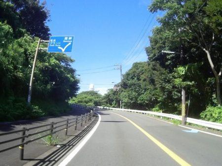 県道41号線(潮岬へと通じる道)の写真