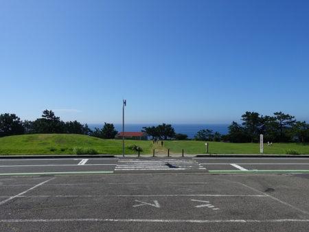 本州最南端の地の石碑がある広場の写真