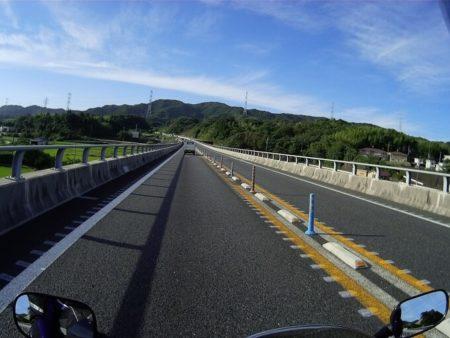紀勢自動車道を走行中の写真