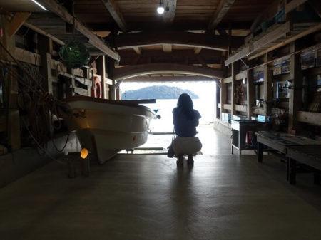 舟屋幻想的な内部の写真