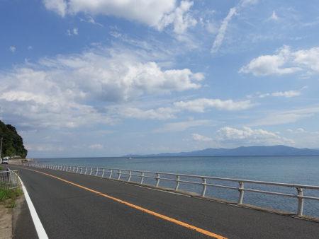 国道178号線 日本海すれすれ道の写真